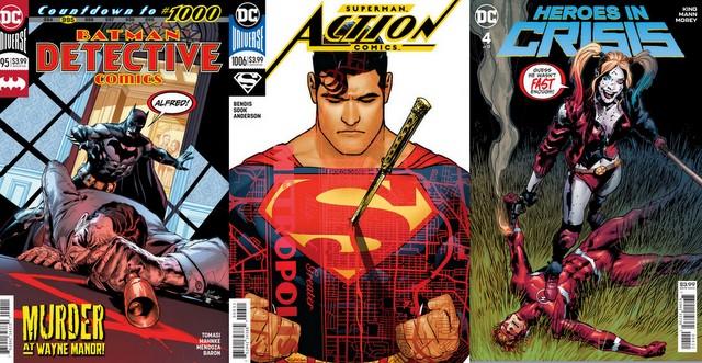 dc comics reviews for 1/2/19