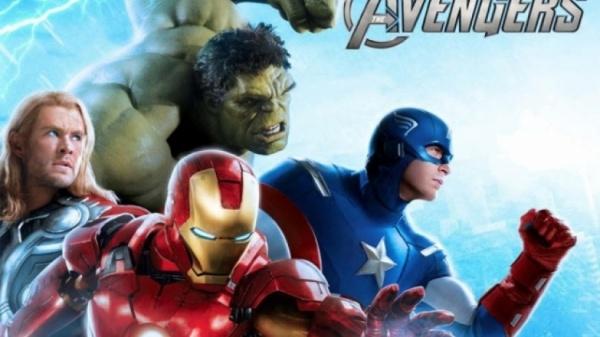 thor iron man, hulk, captain america's avengers family