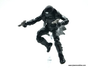 Marvel Legends Spider-Man Noir figure review - aiming in the air