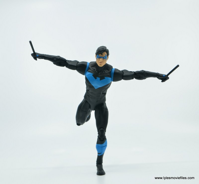 dc essentials nightwing figure review - hush pose