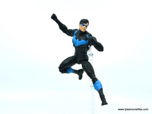 dc essentials nightwing figure review - landing