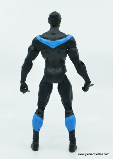 dc essentials nightwing figure review - rear