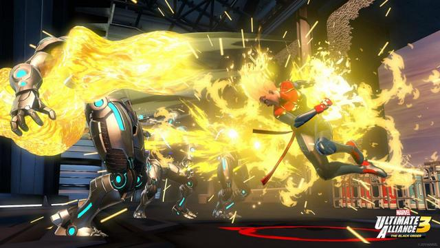 marvel ultimate alliance 3 -captain marvel
