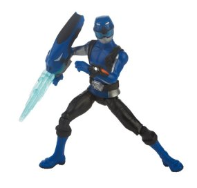 power rangers beast morphers blue ranger - action pose