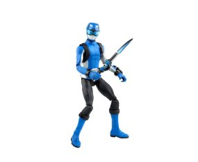 power rangers beast morphers blue ranger - with weapons