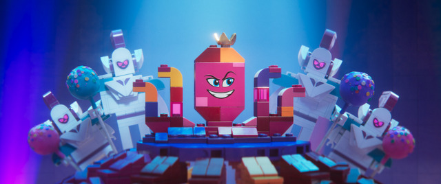 the lego movie 2 the second part movie review - queen watevra wa'nabi