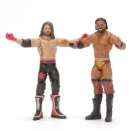 wwe battle pack 59 aj styles and jinder mahal