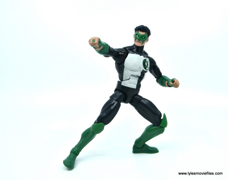 DC Multiverse Kyle Rayner figure review - action stance