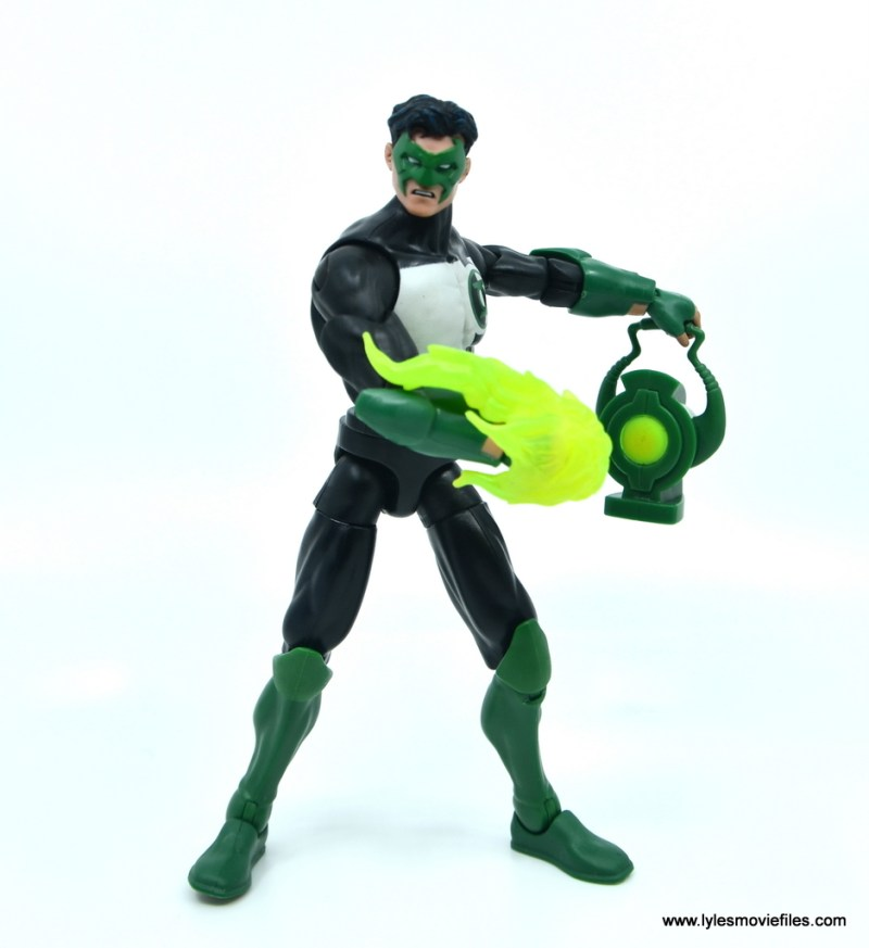 DC Multiverse Kyle Rayner figure review - power blast and lantern