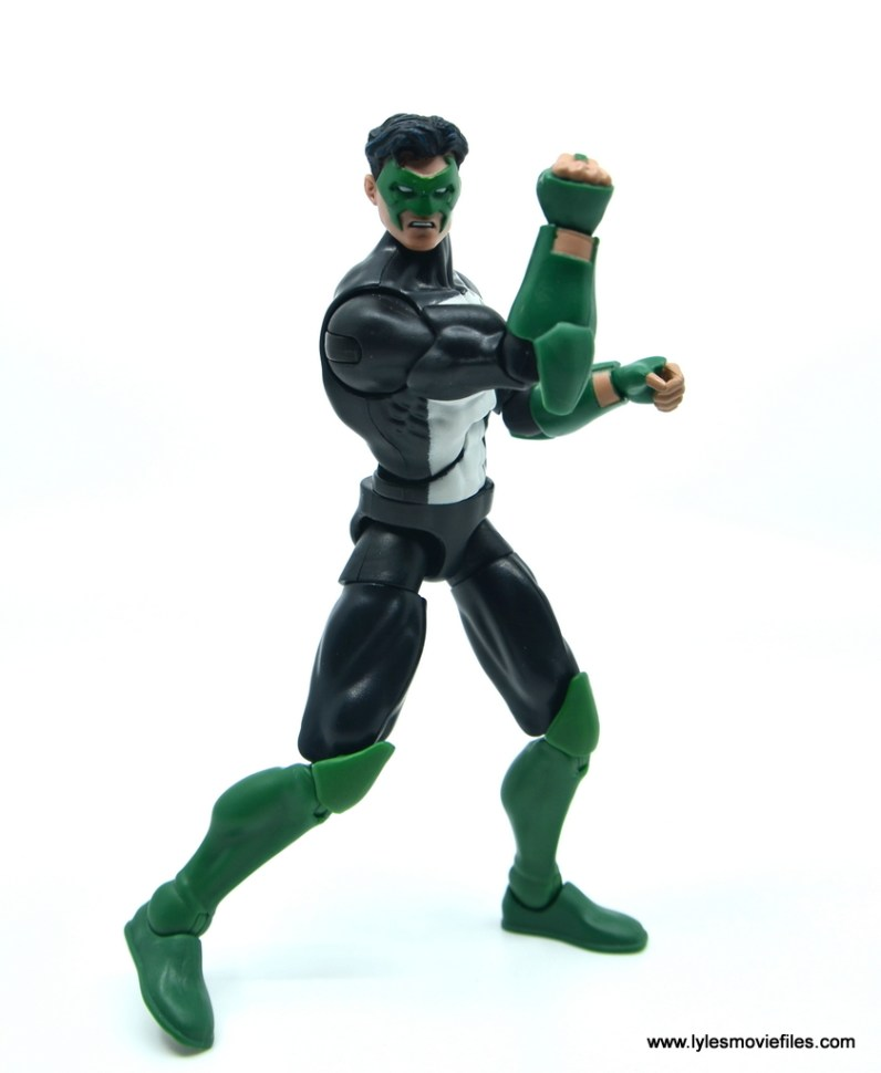 DC Multiverse Kyle Rayner figure review - ready for action