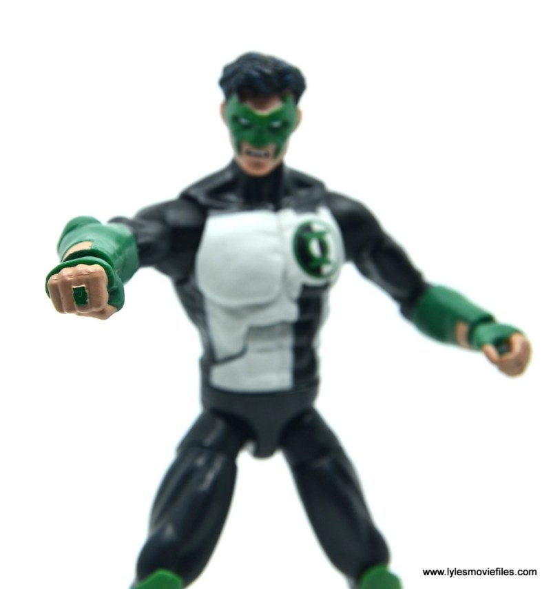 DC Multiverse Kyle Rayner figure review - ring close up
