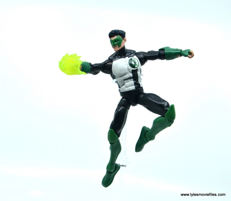 DC Multiverse Kyle Rayner figure review - taking to the skies