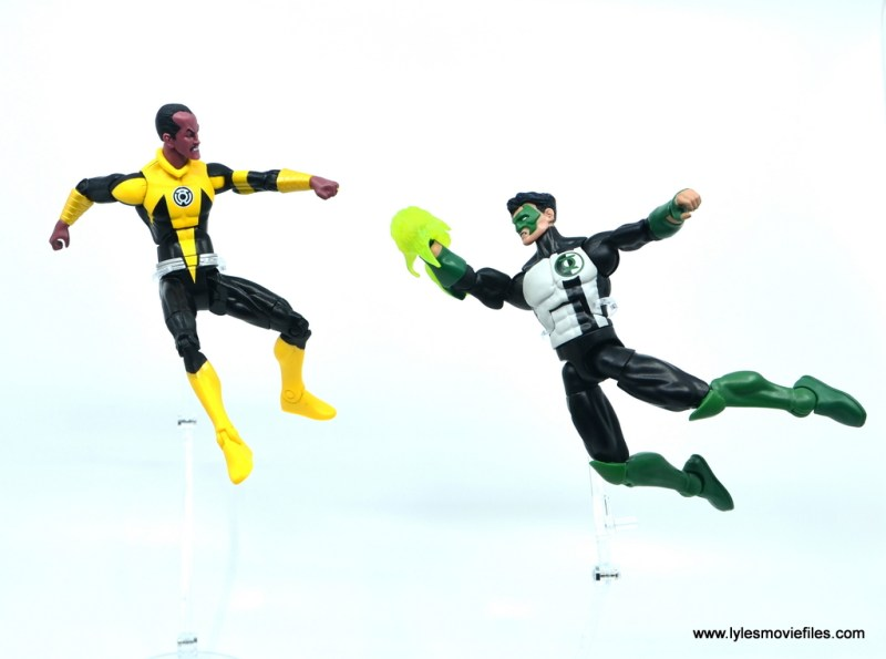 DC Multiverse Kyle Rayner figure review - vs sinestro