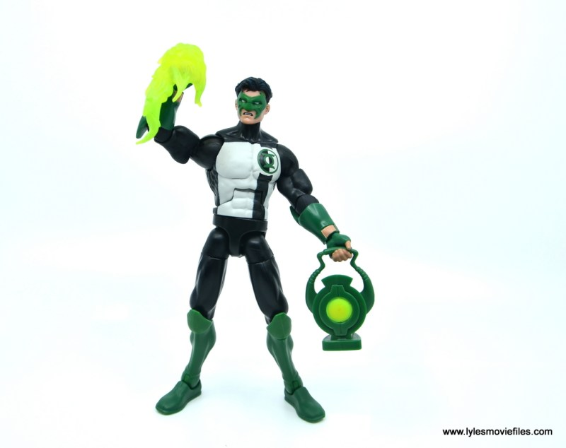 DC Multiverse Kyle Rayner figure review - with power effect and lantern