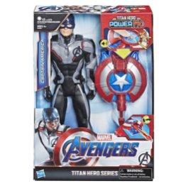 MARVEL AVENGERS ENDGAME TITAN HERO POWER FX CAPTAIN AMERICA in pck