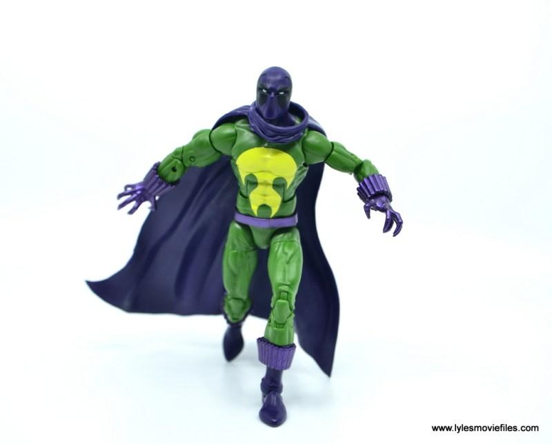 Marvel Legends Prowler figure review - advancing