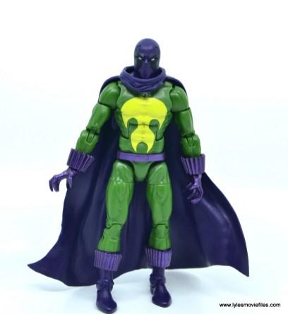 Marvel Legends Prowler figure review - front