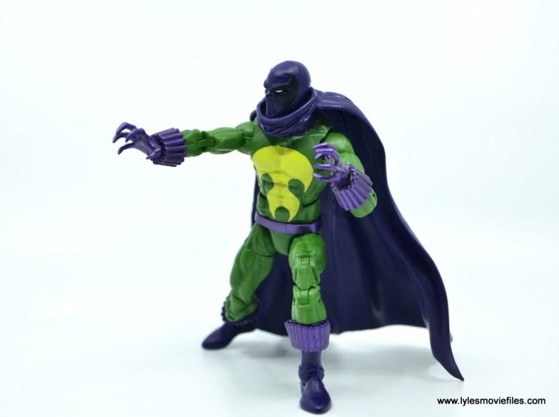 Marvel Legends Prowler figure review - preparing to strike