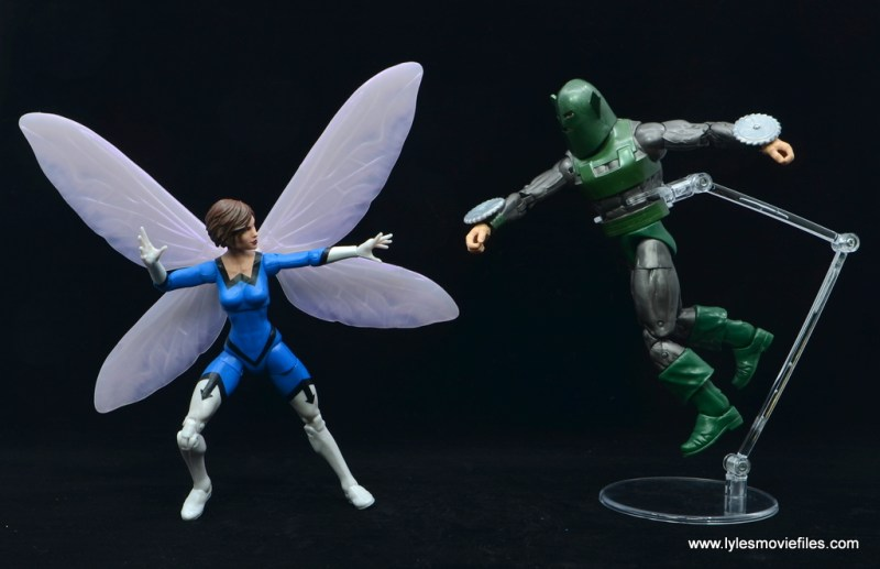 Marvel Legends Vintage The Wasp figure review - vs whirlwind