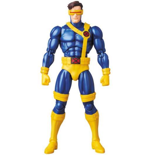 Marvel MAFEX Cyclops figure - front