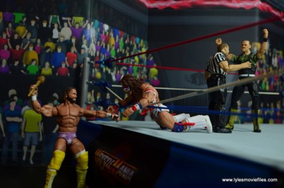 WWE Flashback Ultimate Warrior figure review -macho king coming out