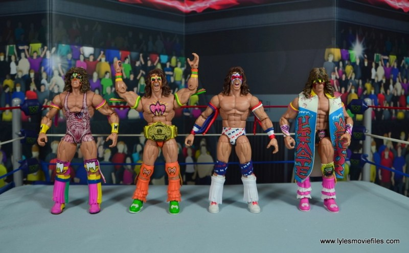 WWE Flashback Ultimate Warrior figure review -ultimate warrior army