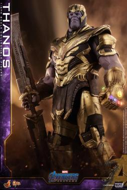 hot toys avengers engame thanos figure -blade detail