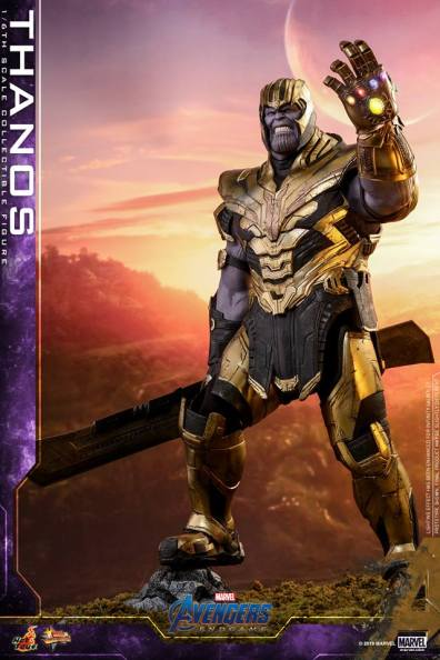 hot toys avengers engame thanos figure -ready for battle