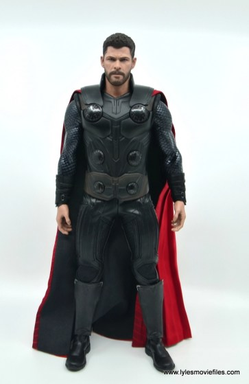 hot toys avengers infinity war thor figure review - front