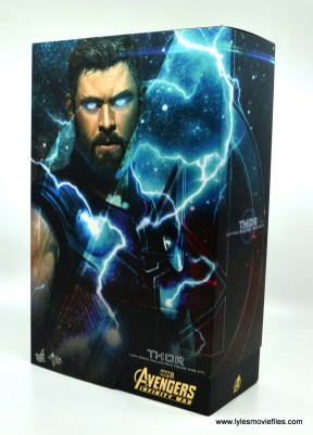 hot toys avengers infinity war thor figure review - package front