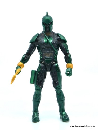 marvel legends genis-vell figure review - front