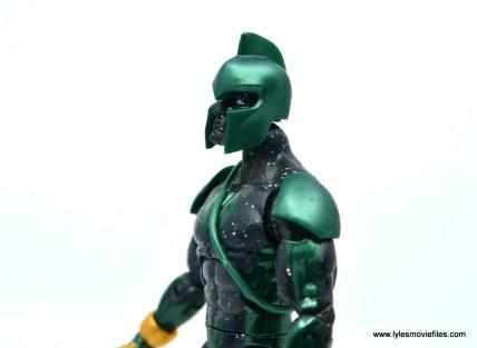 marvel legends genis-vell figure review - helmet close-up