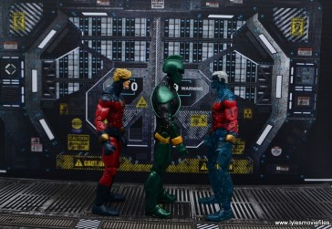 marvel legends genis-vell figure review - scale with captain mar-vell and genis