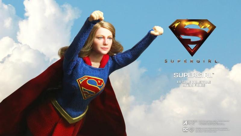 supergirl real master series figures -flying