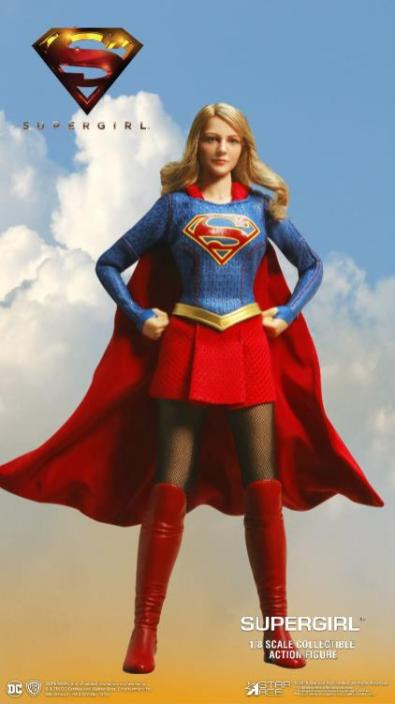 supergirl real master series figures -hands on hips