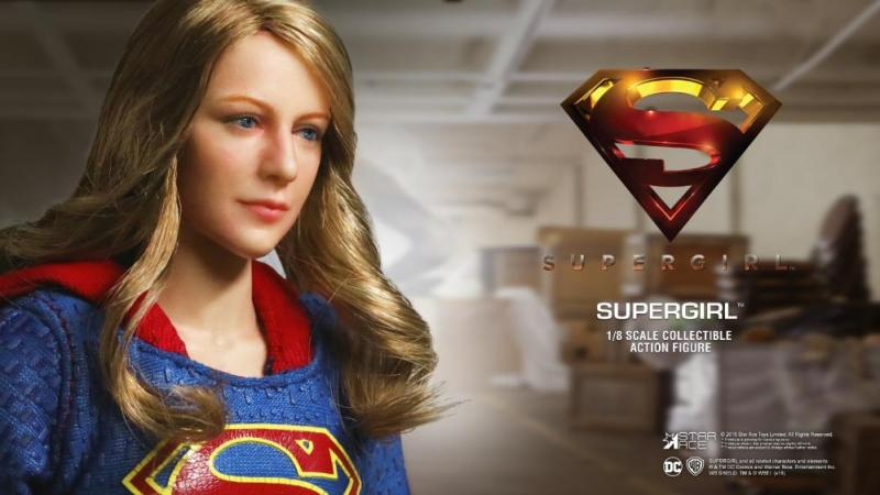 supergirl real master series figures -head closeup