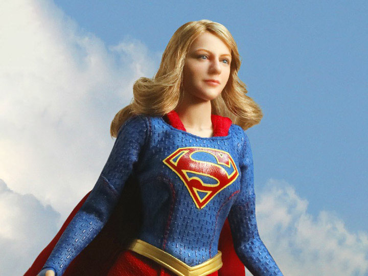supergirl real master series figures - in the air