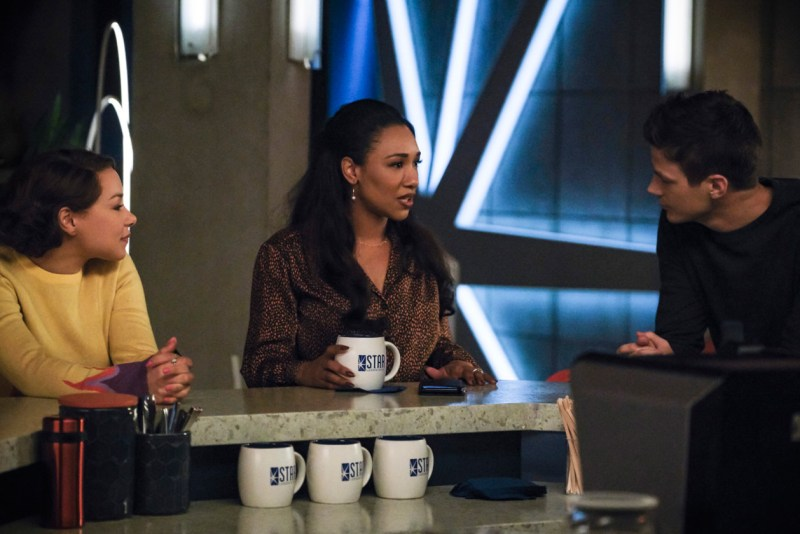 the-flash-failure-is-an-orphan review - nora, iris and barry