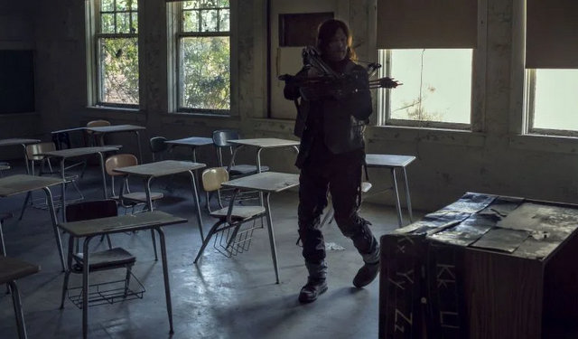 the walking dead scars review - daryl