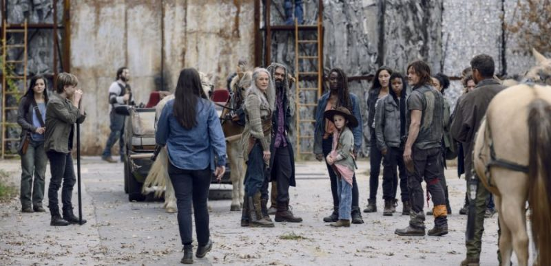 the walking dead the calm before review - lydia, henry, tara, carol, ezekiel, judith, michonne, daryl, kelly