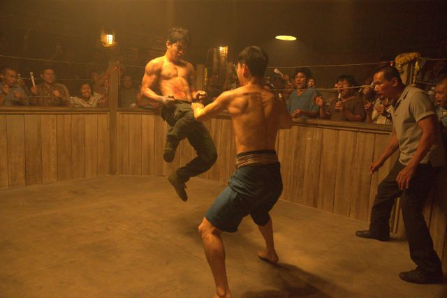triple threat movie review - iko uwais and tiger hu chen