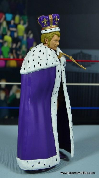 wwe elite king harley race figure review - cloak right side