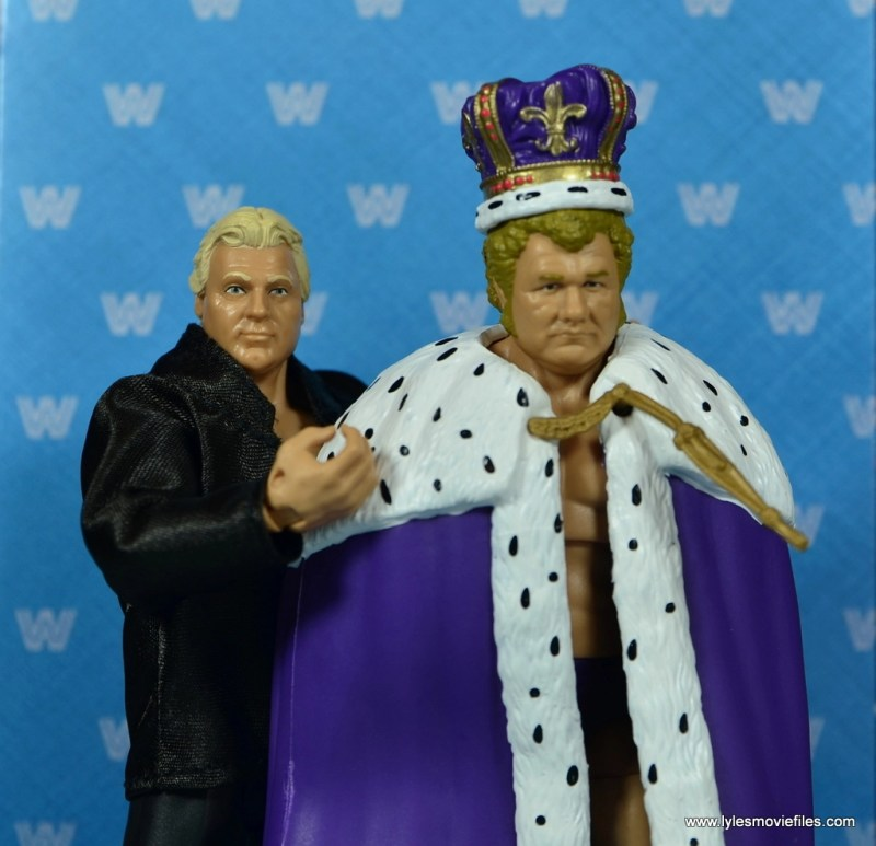wwe elite king harley race figure review - interview center with the brain