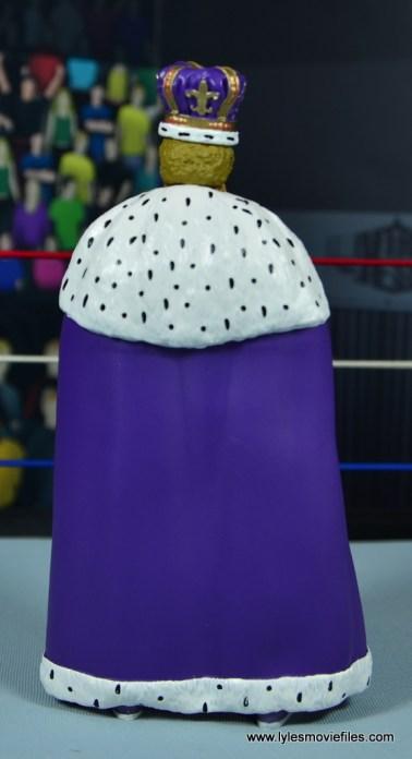 wwe elite king harley race figure review - robe back