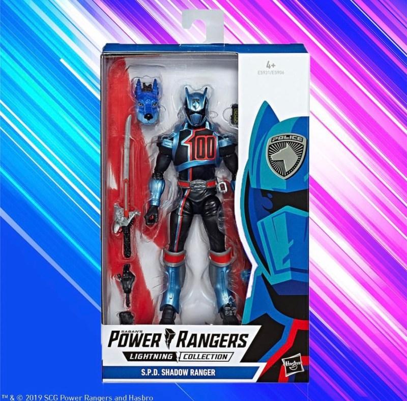 Hasbro power Rangers Lightning collection SPD Ranger