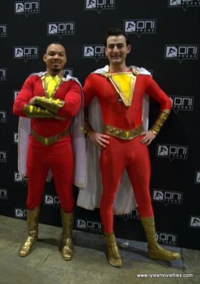 Awesome Con 2019 - captain marvel and shazam