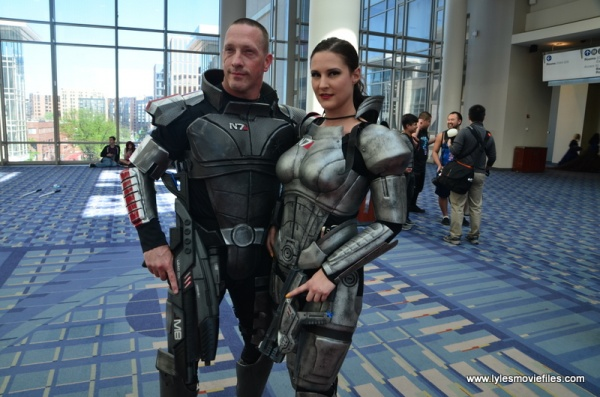 Awesome Con 2019 - mass effect cosplayers