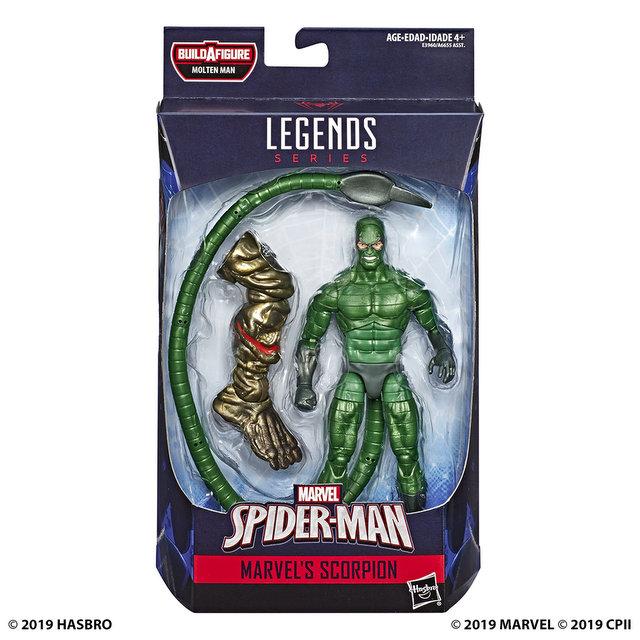 MARVEL SPIDER-MAN LEGENDS SERIES 6-INCH Figure Assortment - Marvel's Scorpian (in pck)