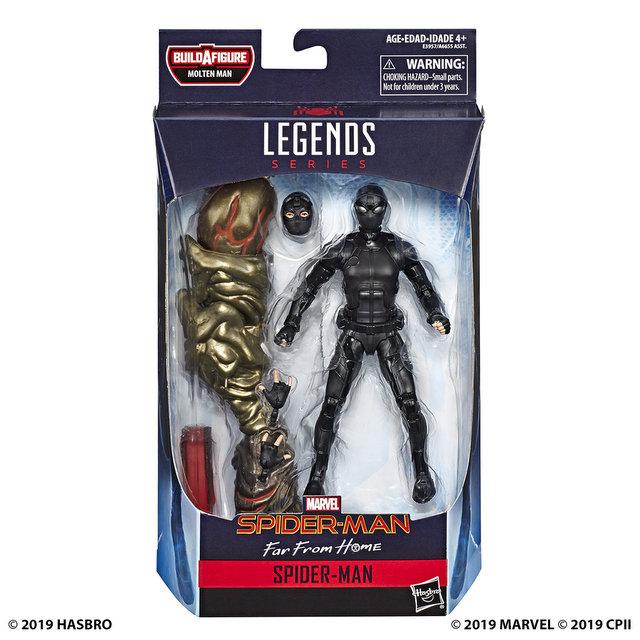 MARVEL SPIDER-MAN LEGENDS SERIES 6-INCH Figure Assortment - Stealth Suit Spider-Man (in pck)