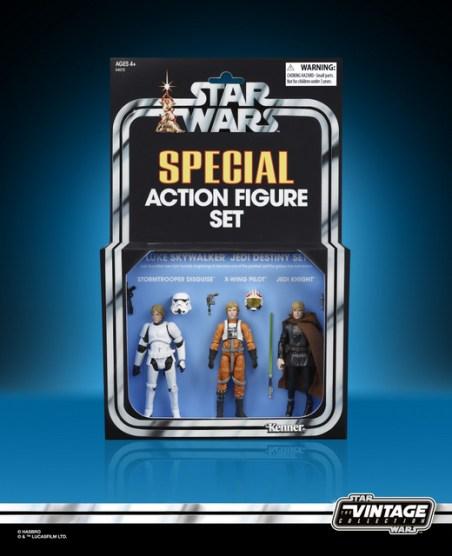 STAR WARS THE VINTAGE COLLECTION 3.75-INCH ORIGINAL TRILOGY LUKE SKYWALKER JEDI DESTINY Figure Set - in pack (1)